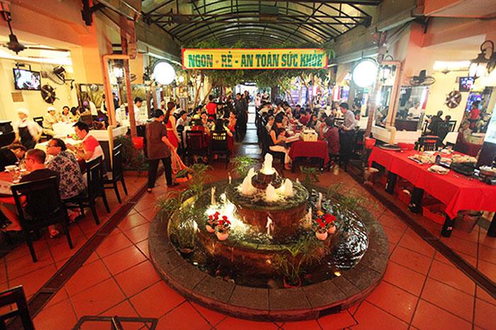 nhà hàng ngon quận Tân Bình