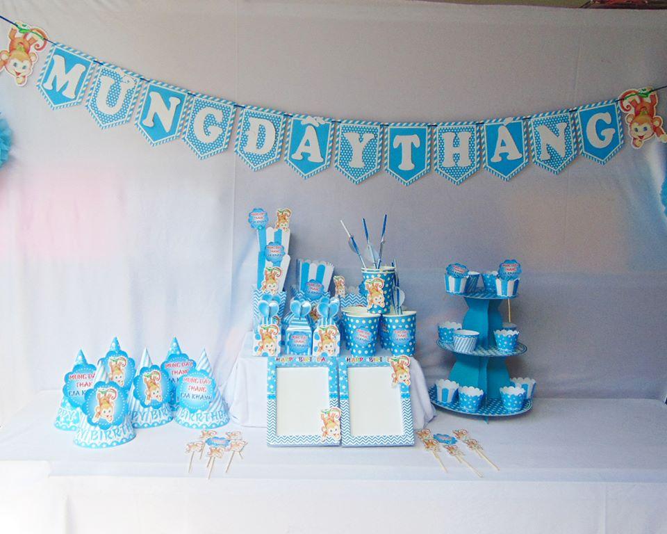 Địa điểm tổ chức tiệc đầy tháng cho bé