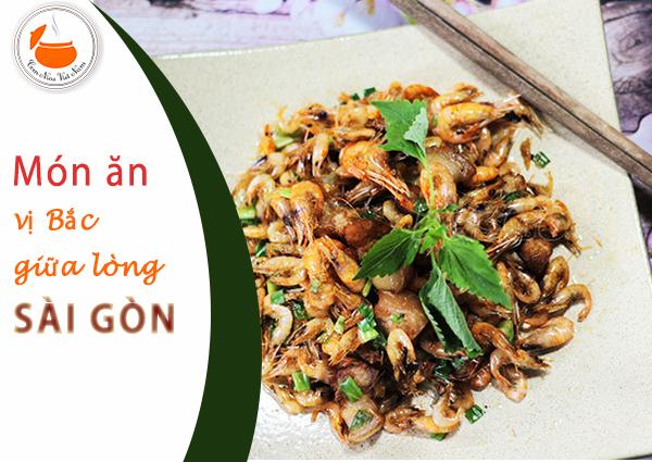 Thưởng thức bữa cơm gia đình miền Bắc giá rẻ ngay tại Sài Gòn