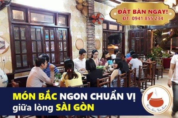 Quán ăn bắc, nhà hàng món bắc vừa miệng ở Tân Bình