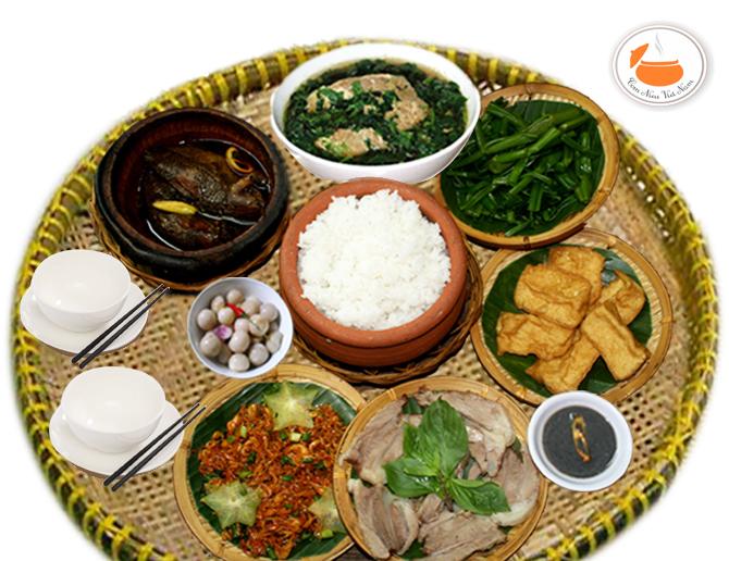 Nhà hàng, quán ăn phục  vụ món ăn phía Bắc không lo về giá, đảm bảo chất lượng tại Sài Gòn